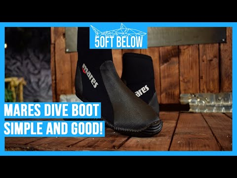 fa9d46c0d61 Mares Dive Boot Classic Review in 3 min - YouTube