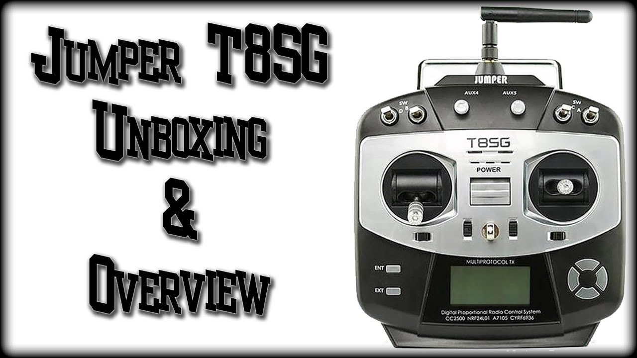 Jumper T8SG Unboxing & Overview