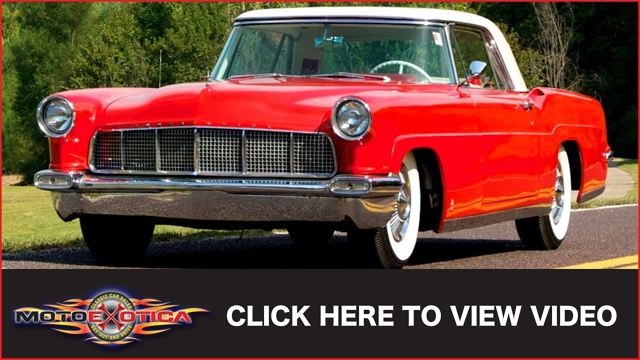 1956 lincoln mark ii continental sold youtube. Black Bedroom Furniture Sets. Home Design Ideas