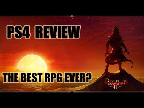 Divinity Original Sin 2 - PS4 Review - The Best RPG?