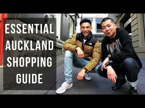 Shopping in Auckland New Zealand