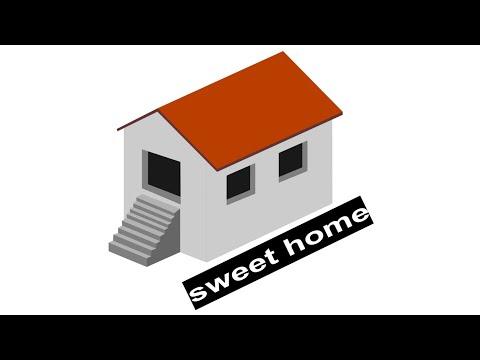 Corel Draw Tutorials - 3D Home Design | Graphic Design tutorial 2019 thumbnail