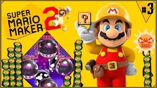 Super Mario Maker 2 #3 - Próbuję zabić k0nia, a on nie chce pluć ogniem (smutne)