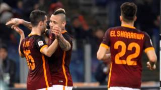 Roma Vs Sampdoria 2-1 Goals||HD (07/02/2016)