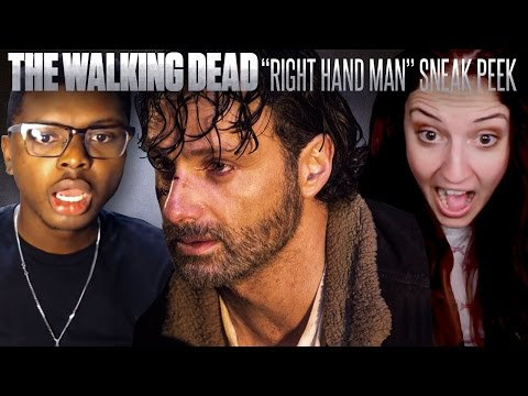 "The Walking Dead: ""Right Hand Man"" Fan Reaction Compilation"