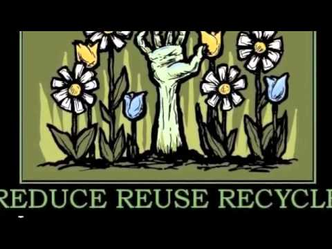 3 R's : Reduce, Reuse, Recycle.