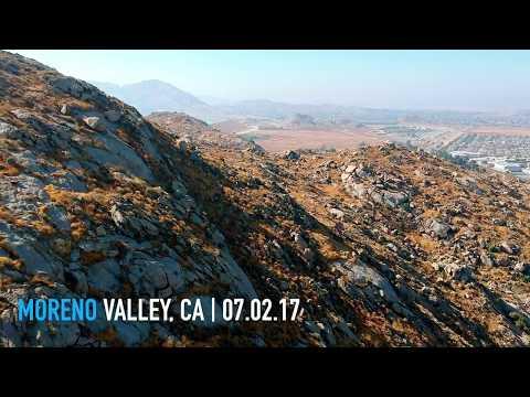 DJI Spark Test in Moreno Valley.