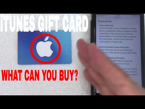 ✅  What Can You Buy With ITunes Gift Cards 🔴