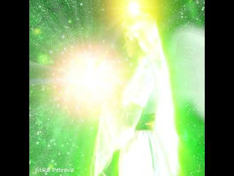 Grüne Energie Für Heilende Harmonie. Green Energy For Healing Harmony.