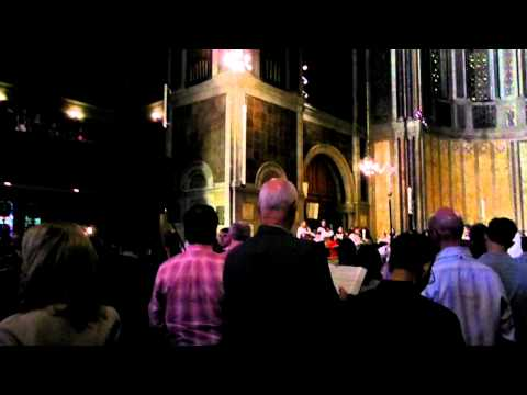 The strife is oer!, St Bartholomews Church