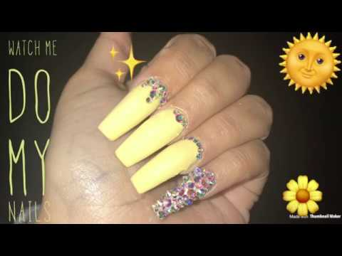 Acrylic Nails Fill   Watch Me Do My Nails