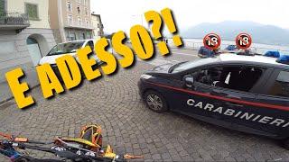 Fermato dai carabinieri senza targa!