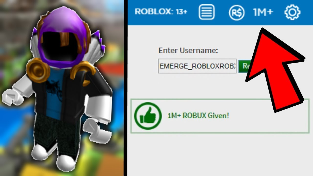 Get Free Robux No Password Required 2019 Youtube