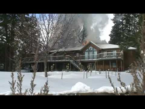 Fire damages Spokane Valley home