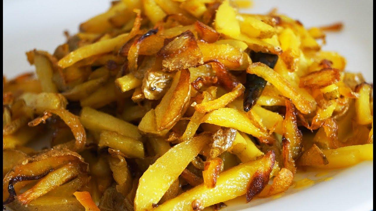 कम तेल और कम मसाले से बनाए आलू की स्वादिस्ट भुजिया | Potato fry Recipe | aloo fry