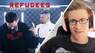 JURI feat. Sun Diego - Refugees prod. by Digital Drama - REACTION/BEWERTUNG