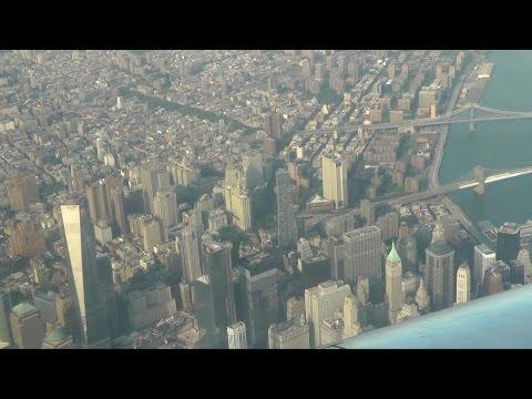 New York City aerial view  Нью-Йорк - вид с воздуха