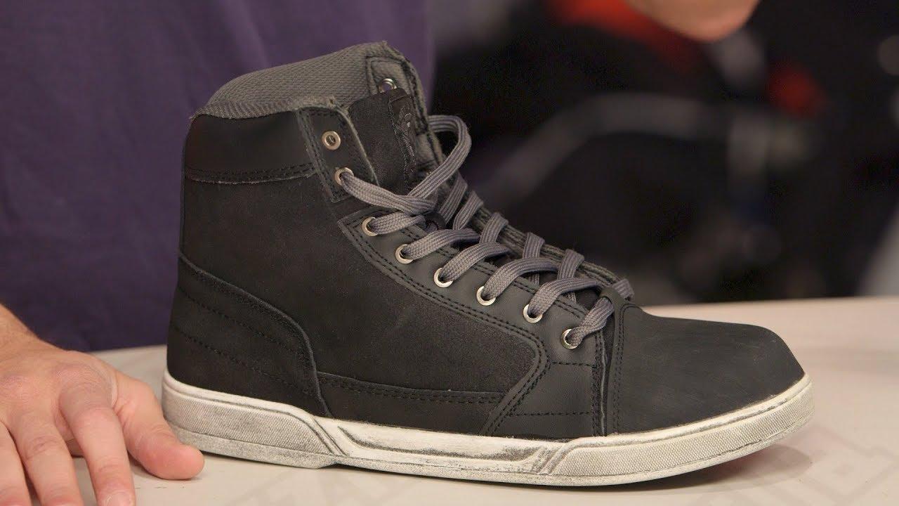 82d2e739167d Street   Steel Kickstarter Riding Shoes Review at RevZilla.com - YouTube