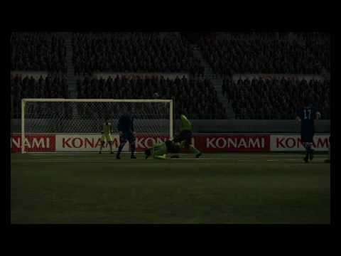 Pes 2010 | Drogba Overhead Kick
