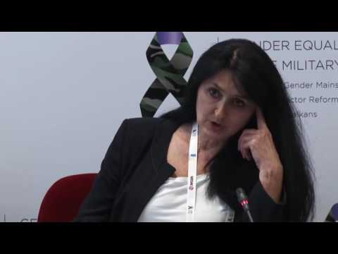 Panel II - Gender Equality in the Military in the Western Balkans