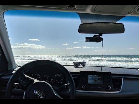 Encinitas, San Diego County, California, SR1, dash cam