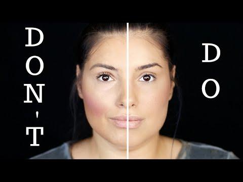 Greseli frecvente in machiaj | DO & DON'T | Claudia Nita