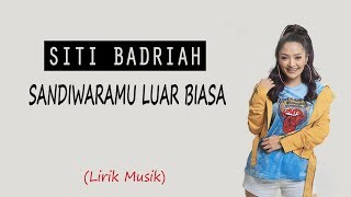 Download lagu SITI BADRIAH - SANDIWARAMU LUAR BIASA feat. RPH & Donall (Lirik Video)