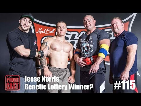 Jesse Norris - Genetic Lottery Winner? | PowerCast #115 | SuperTraining.TV