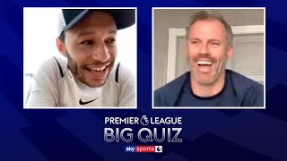 Alex Oxlade-Chamberlain vs Jamie Carragher in the ULTIMATE Premier League quiz!