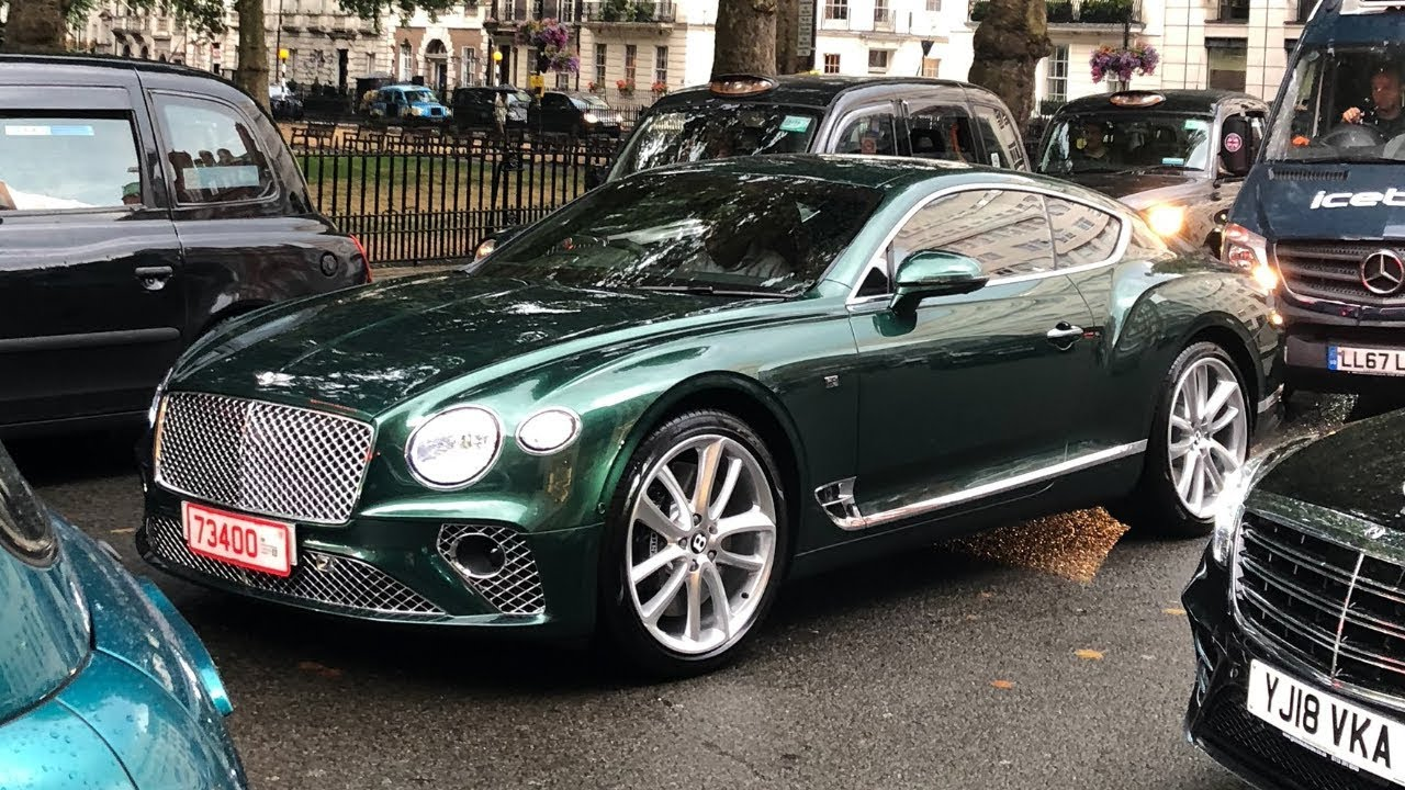 New 2019 Bentley Continental Gt Spotted Driving In London Car Spotting