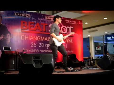 Move the Sky - Vinai Trinateepakdee - Live in Chiang Mai - Beat spot , Line6 Hx , Laney