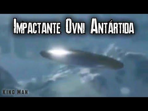 Impactante Ovni viral grabado en la Antártida
