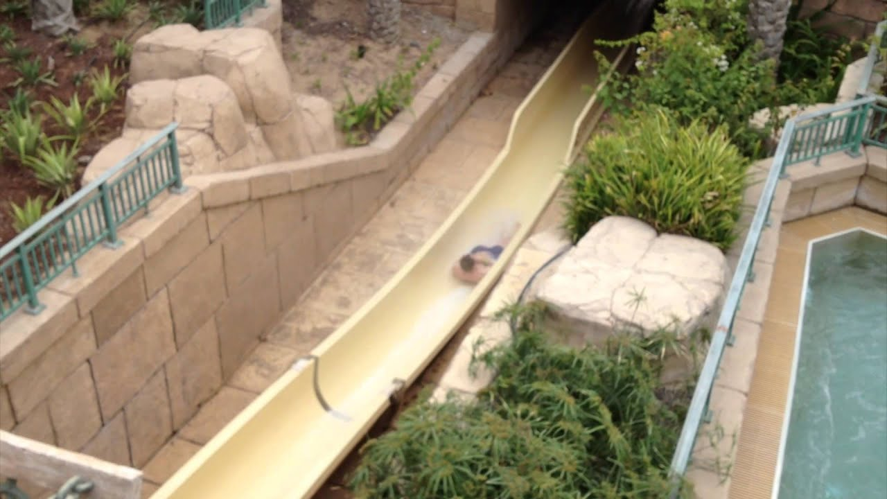 Water Tank Trailer >> Leap of Faith Vertical Water Slide Through The Shark Tank ...