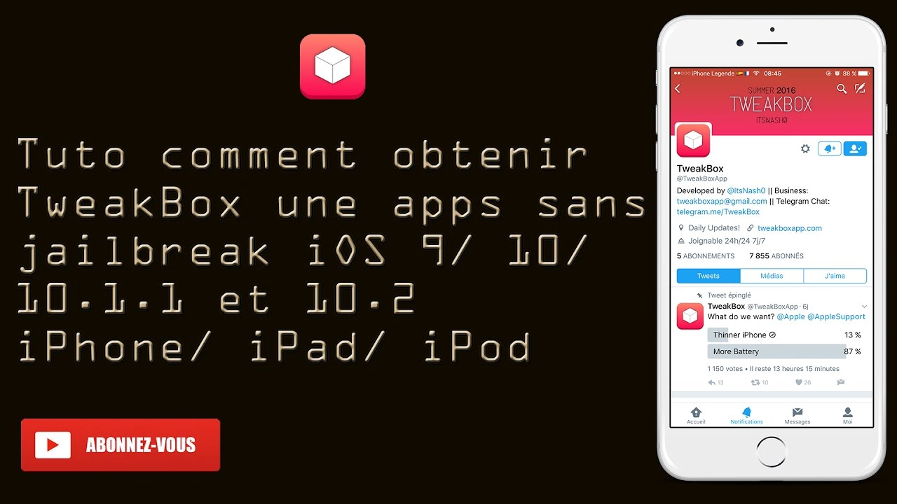 tuto app iphone
