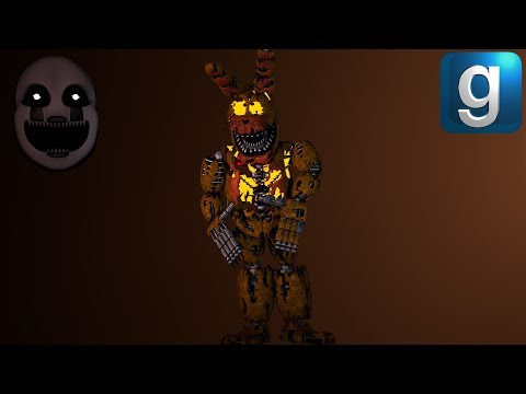 Gmod FNAF | Rebuilding New Nightmare Jack-O-Bonnie With Spare Parts [Early Access]