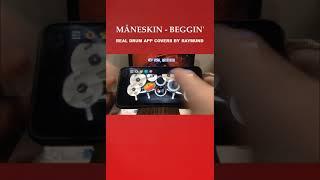 #Shorts Beta Video MÅNESKIN - BEGGIN' | Real Drum App Covers by Raymund