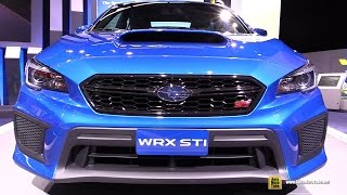 2018 Subaru WRX STI - Exterior and Interior Walkaround - Debut at 2017 Detroit Auto Show