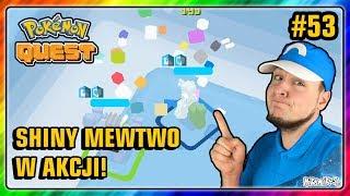 SHINY MEWTWO W AKCJI!  - Pokemon QUEST PL #53