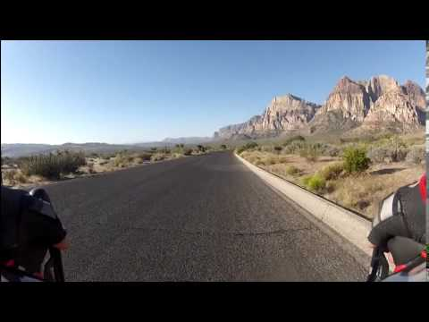 Cycling RedRock Loop in Las Vegas Nevada