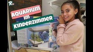 Aquarium fürs Kinderzimmer  - Nähen für Jungs - Vlog#1035 Rosislife