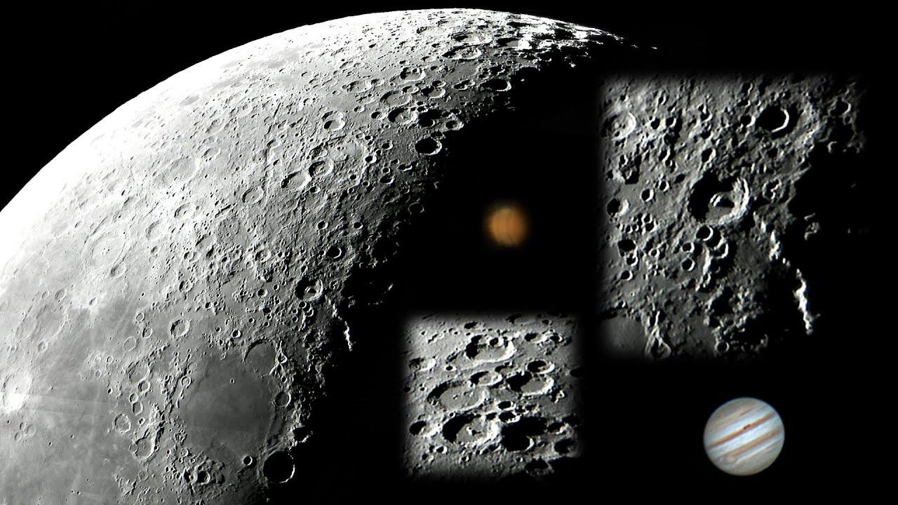 Mond Jupiter Amp Mars Durch Mein Teleskop 22 8 2011 05 30h