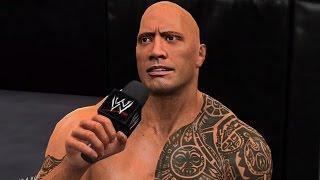 WWE 2K15 Walkthrough - WWE 2K Showcase Walkthrough Part 17 - Hustle, Loyalty, Disrespect (The Rock Vs. CM Punk)