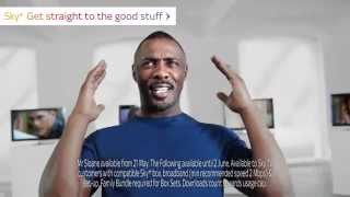 New Sky+ Homepage (UK) with Idris Elba thumbnail