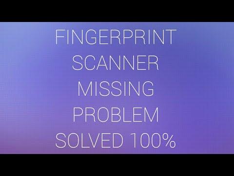 fingerprint missing problem solved || fingerprint problem solve by  TECHNICAL NAVEEN HINDI