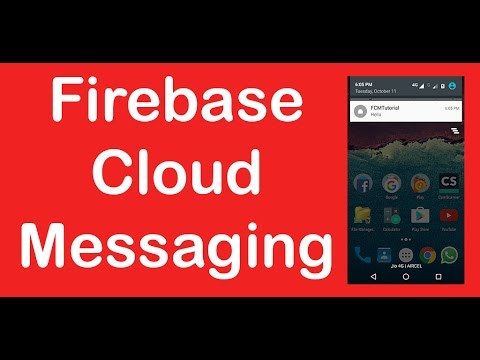 Android tutorial: Push notifications using Firebase Cloud Messaging (FCM)