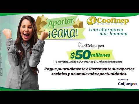 CAMPAÑA APORTAR GANA DE COOFINEP