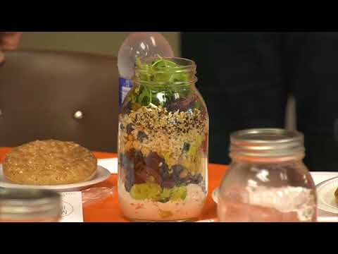 Salad Jars at The Slater Center