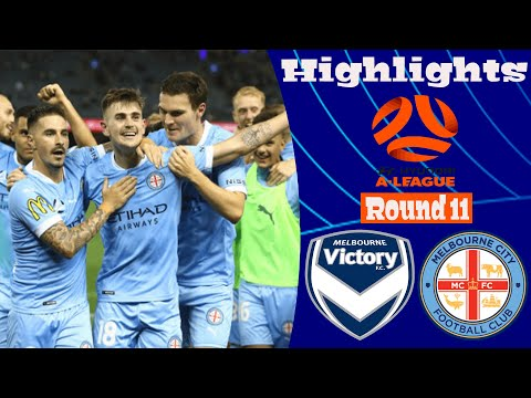 Melbourne Victory Melbourne City Goals And Highlights
