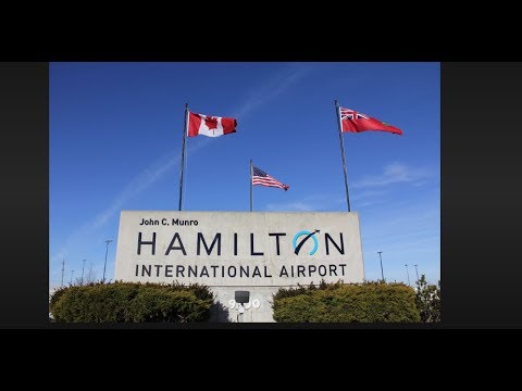 Driving From Milton (video # 3) To Hamilton Airport. Ontario, Canada