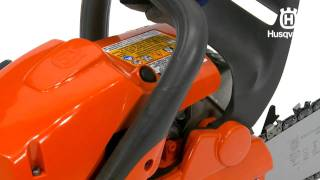 How to Start a Husqvarna Chainsaw